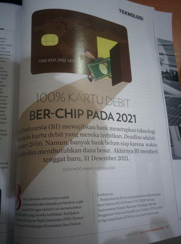 100 Kartu Debit Ber Chip Pada 2021